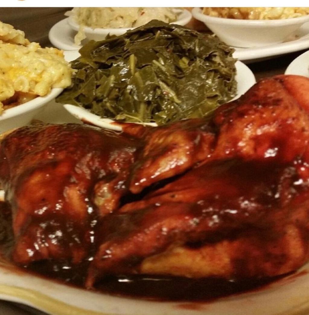 Barbecue Chicken Platter