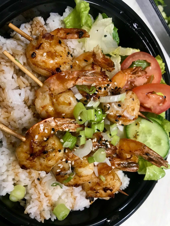 -Grilled Shrimp Plate (3pc)