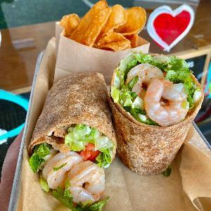 -Cilantro Lime Shrimp Wrap