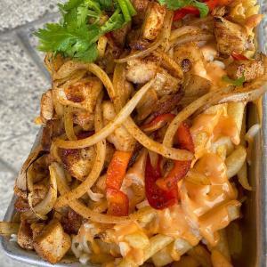 -Chicken Fajitas Fries