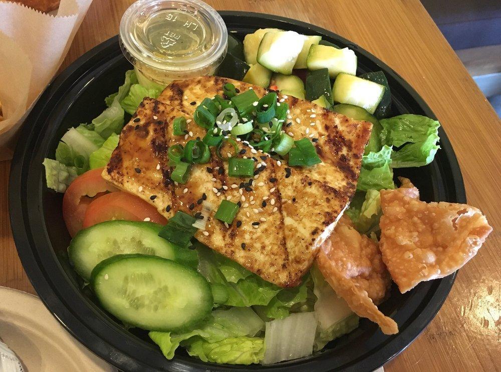 -Organic Tofu Salad