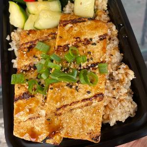 -Grilled Organic Tofu (2pc)