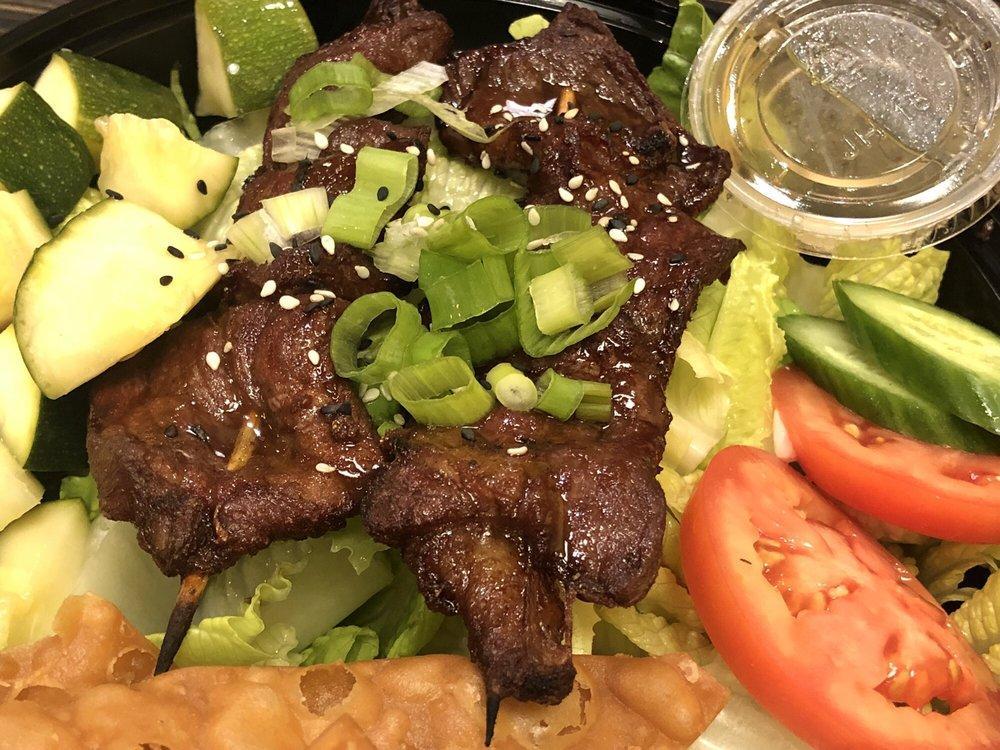 -Grilled Kalbi Beef Salad