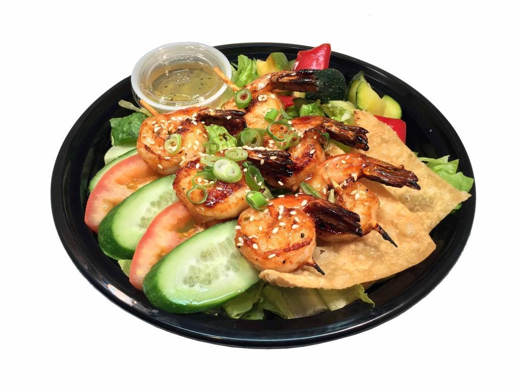 -Grilled Shrimp Salad