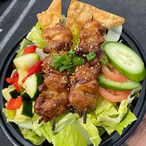 -Grilled Chicken Salad