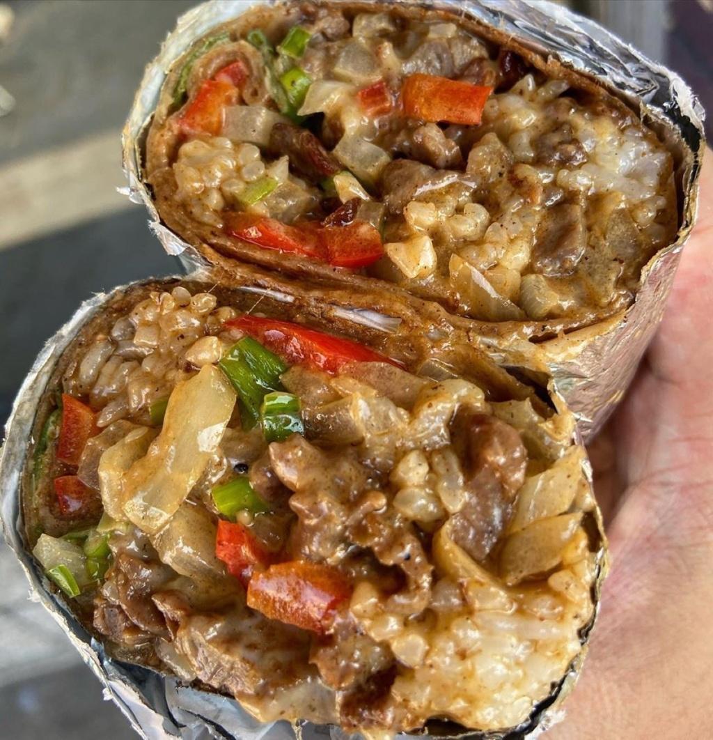 -CheeseSteak Burrito