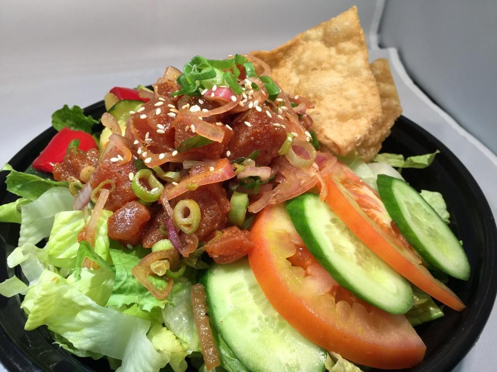 -Ahi Poke Salad