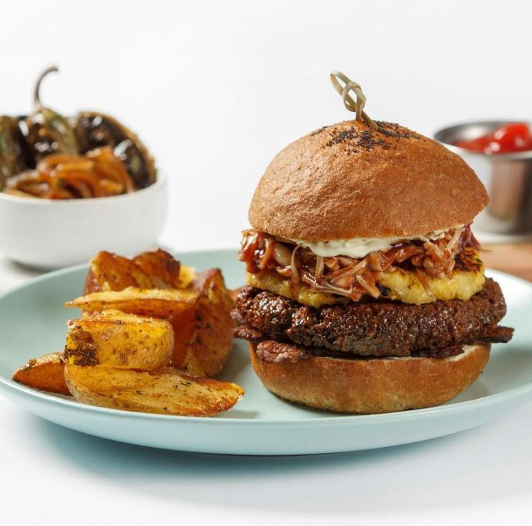 Bbq Jack Fruit Burger