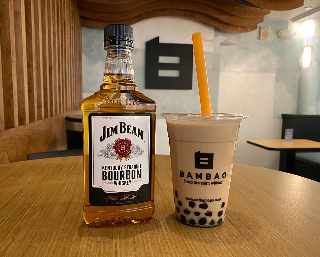 Bourbon Milk Tea* (m)