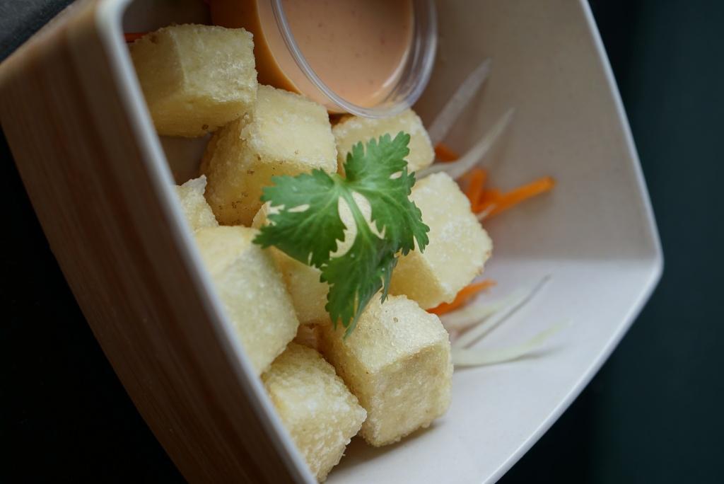 Crispy Tofu with Special Sauce