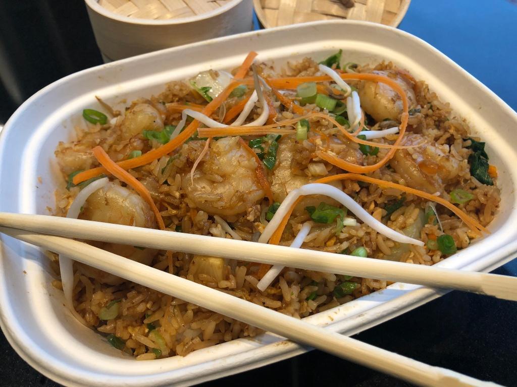 Shrimp Fried Rice Tray (5-6 people)