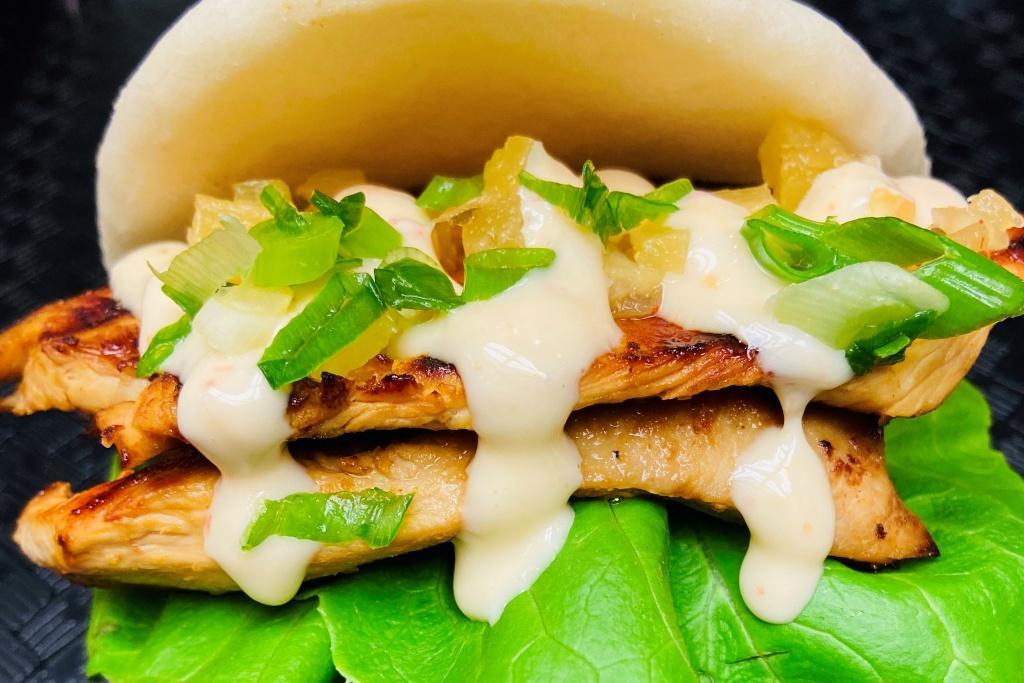 Lemongrass Grilled Chicken BAO