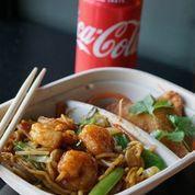 Combo Shrimp Lo Mein