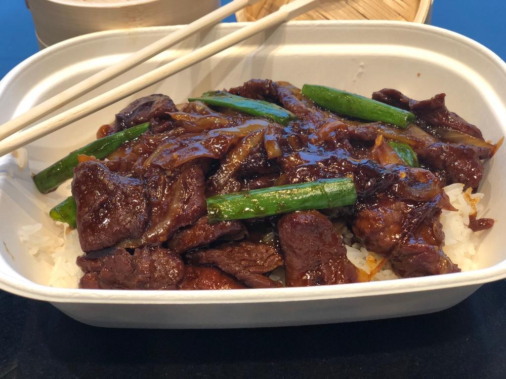 Mongolian Beef Tray (5-6 people)