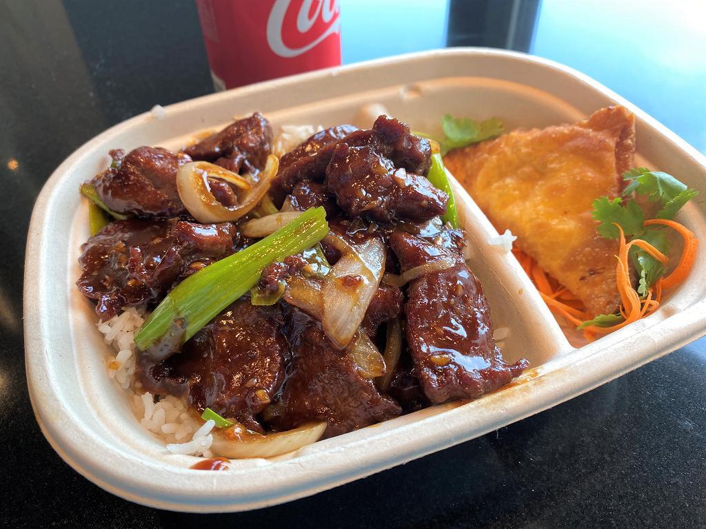 Combo Mongolian Beef