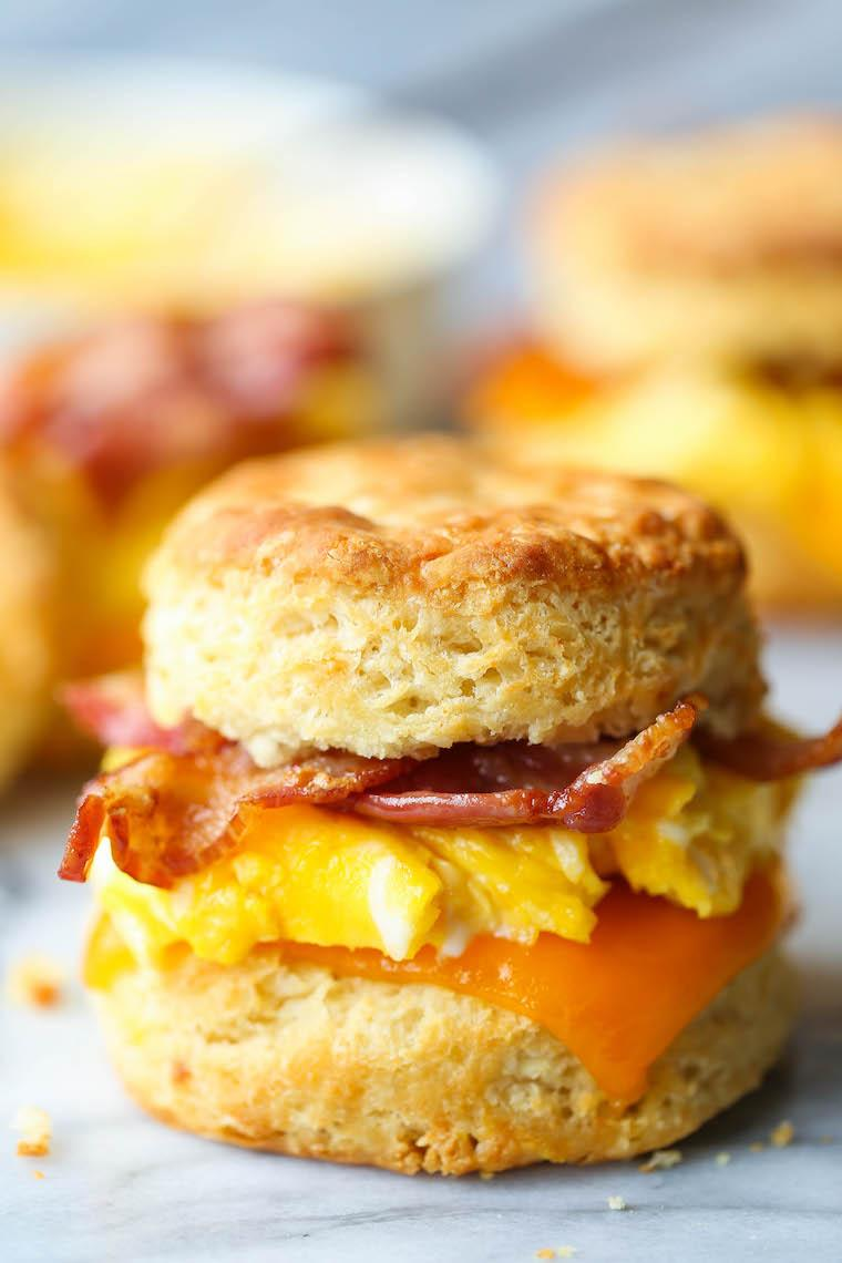 Biscuit/ Bacon and Eggs