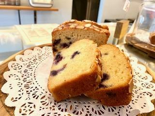 Blueberry Almond Slice