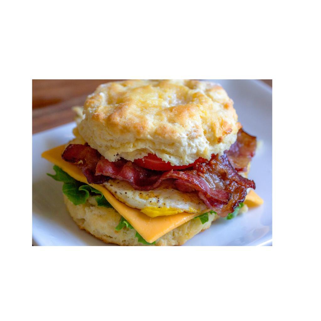 Biscuit/ Egg BLT
