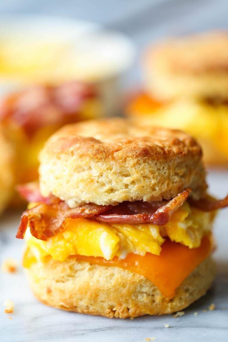Biscuit/ Scrambled Eggs