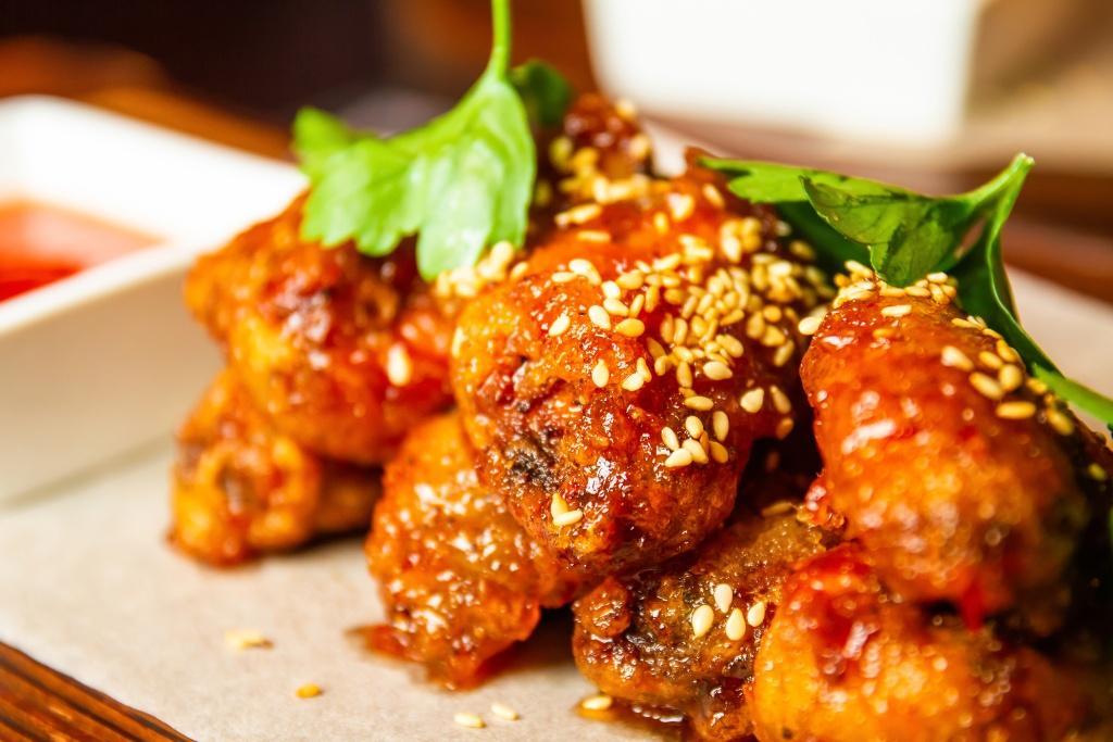 Thai sweet chili wings