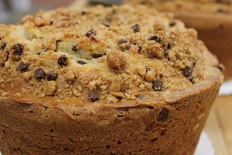 Vanilla Cinnamon coffee cake