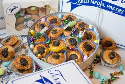 Cucidati Cookie Tin REQUIRES 24 HRS